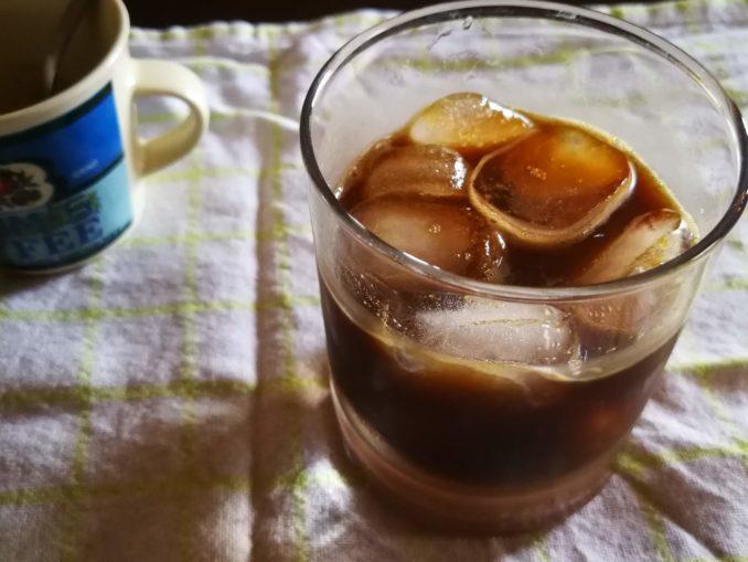 Caffe leccese con ghiaccio