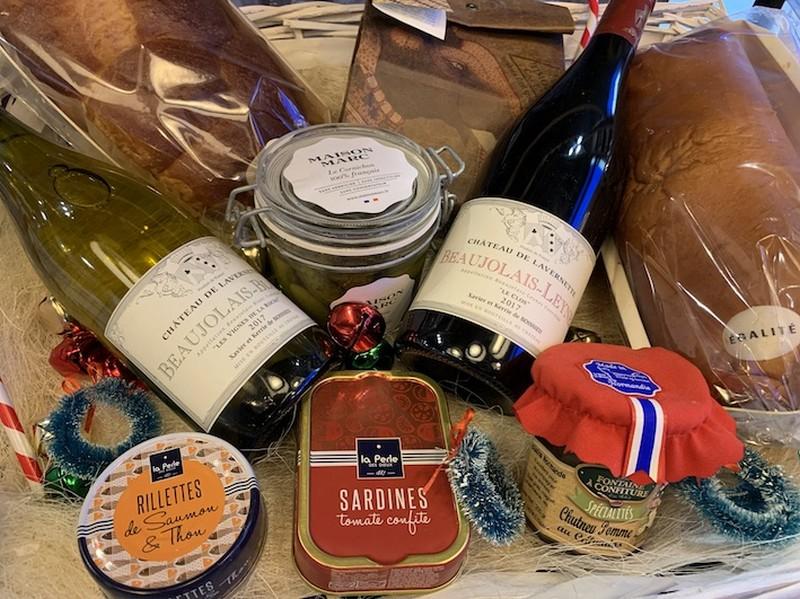 Boulangerie Égalité Milano: Cesto di Natale