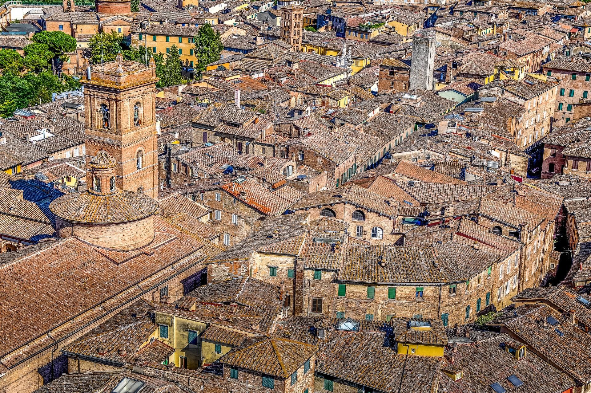 Panorama di Siena - Foto di Zotx